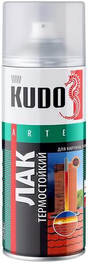 Kudo Arte лак термостойкий для кирпича, камня, бетона (520 мл)