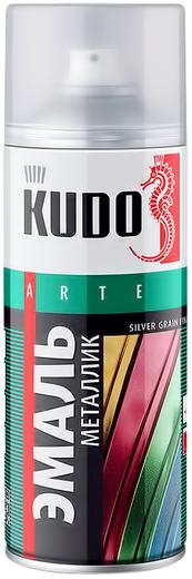 Kudo Arte Silver Grain Finish эмаль металлик универсальная