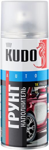 Kudo Auto 1K Filler грунт наполнитель акриловый (520 мл) белый
