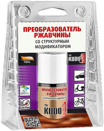 Kudo преобразователь ржавчины со структурным модификатором (15 мл)