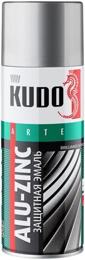 Kudo Arte Alu-Zinc Brilliance & Protect защитная эмаль универсальная алюминиево-цинковая (520 мл) серая