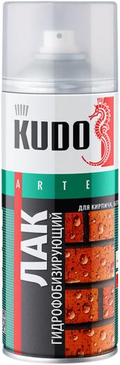 Kudo Arte лак гидрофобизирующий для кирпича, бетона, камня (520 мл)
