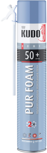 Pur foam 50+ бытовая всесезонная 750 мл ручная