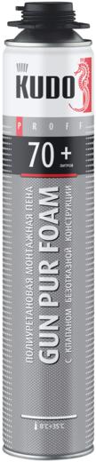Gun pur foam 70+ профессиональная 1000 мл пистолетная