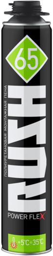 Rush Power Flex 65 полиуретановая профессиональная монтажная пена