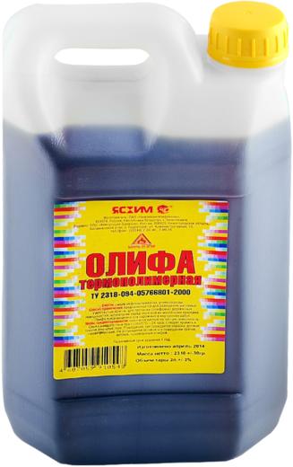 Ясхим олифа термополимерная (10 л)