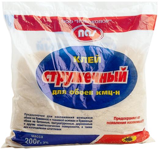 Новоколор КМЦ-Н клей стружечный для обоев (400 г)