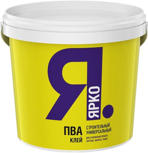 Ярко ПВА клей строительный универсальный (1 кг)