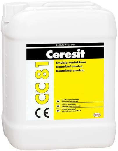 Ceresit CC 81 адгезионная добавка для цементных растворов и бетонов (10 л)
