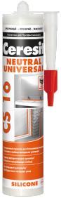 Ceresit CS 16 Neutral нейтральный силиконовый герметик
