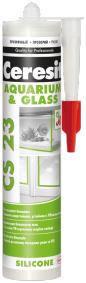 Ceresit CS 23 Glass Silicone силиконовый герметик для стекла и аквариумов