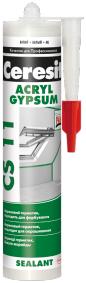 Акриловый герметик Ceresit CS 11 Sealant Premium (280 мл) белый
