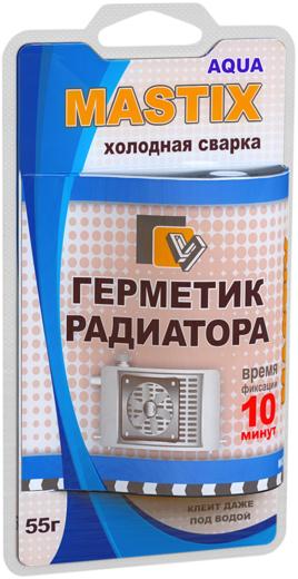 Mastix холодная сварка герметик радиатора (55 г)