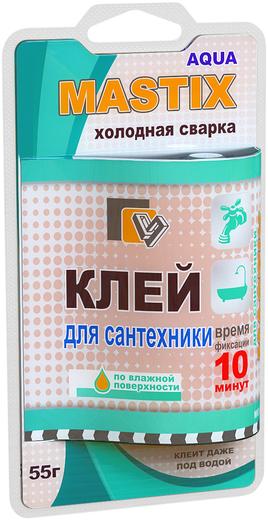 Mastix холодная сварка клей для сантехники
