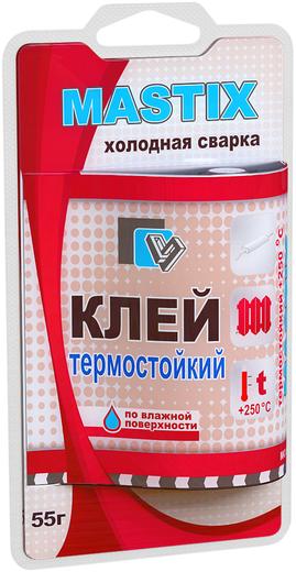 Mastix холодная сварка клей термостойкий (55 г единичный блистер)