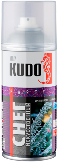 Kudo Party Water Based Eco Paint снег искусственный (210 мл)