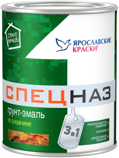 Ярославские Краски Спецназ грунт-эмаль по ржавчине 3 в 1 (20 кг) светло-серая