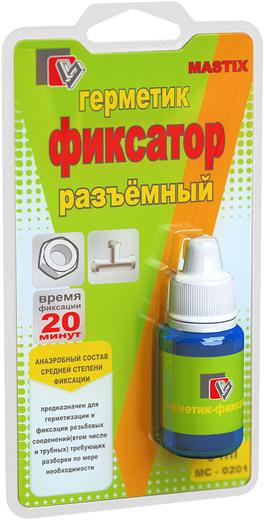 Mastix герметик-фиксатор разъемный (6 мл) желтый