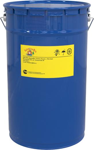 КраскаВо грунт-эмаль по ржавчине 3 в 1 (18 кг) черная