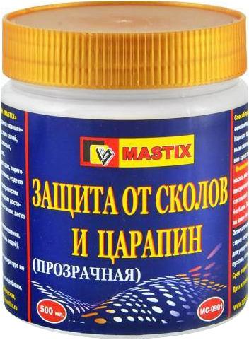 Mastix защита от сколов и царапин прозрачная (500 мл) прозрачная