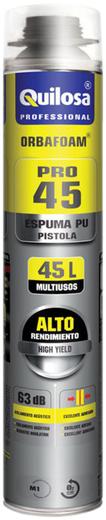 Quilosa Orbafoam Pro 45 пена монтажная всесезонная