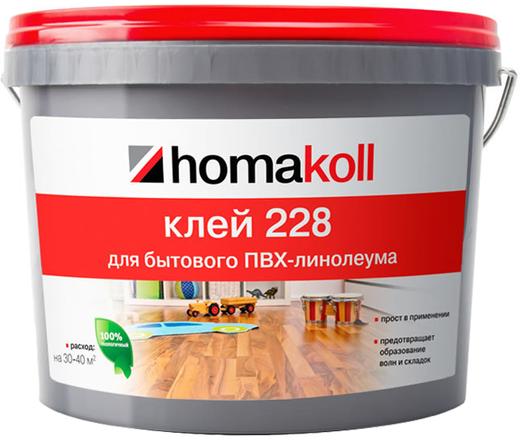 Homa Homakoll 228 клей для бытового ПВХ-линолеума водно-дисперсионный (14 кг)