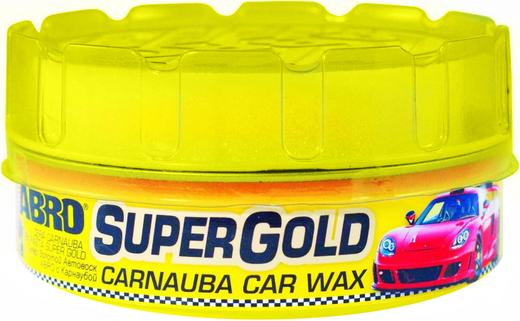 Abro Supergold Carnauba Car Wax автовоск тефлоновый (230 мл)