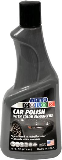 Abro Color Car Polish with Enhancers автополироль цветной (473 мл) черный