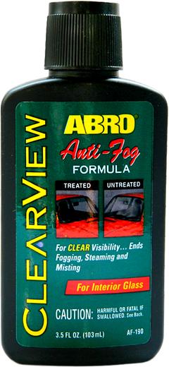 Abro ClearView Anti-Fog Formula антизапотеватель
