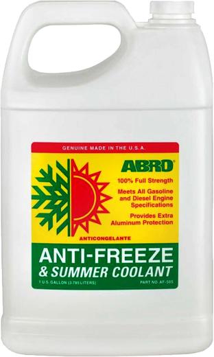 Abro Anti-freeze & Summer Coolant антифриз концентрат (4 л)