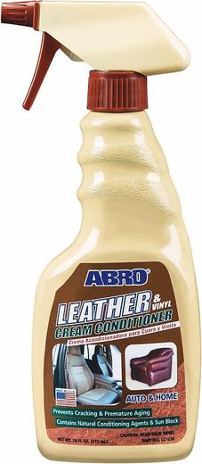Abro Leather & Vinyl Cream Conditioner крем-кондиционер для кожи и винила (472 мл)