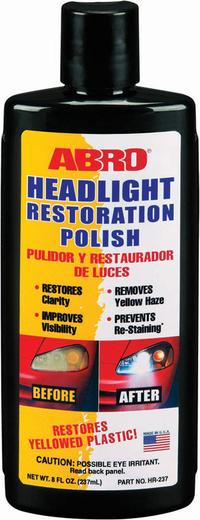 Abro Headlight Restoration Polish полироль-восстановитель фар (237 мл)