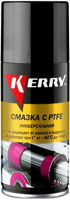Kerry смазка с PTFE универсальная тефлоновая (210 мл)