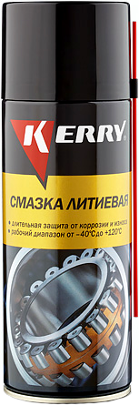 Kerry смазка литиевая универсальная (520 мл)