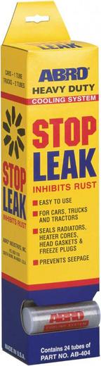 Abro Stop Leak Inhibits Rust герметик радиатора порошок