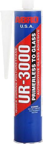 Abro UR-3000 герметик для автостекол уретановый (310 г)