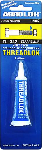 Abro Threadlok фиксатор резьбовых соединений синий