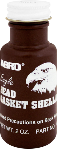 Abro Eagle Head Gasket Shellac герметик прокладок шеллак с кисточкой