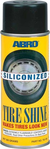 Abro Siliconized Tire Shine блеск для шин силиконовый (300 г)
