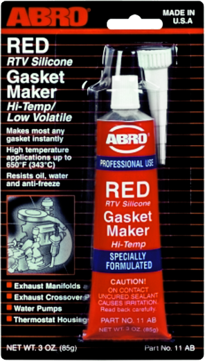 Abro RTV Silicone Gasket Maker герметик прокладок стандартный (85 г в блистере) черный