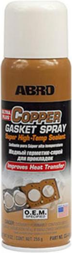Abro Copper Gasket Spray медный герметик-спрей для прокладок