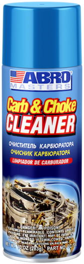 Abro Masters Carb & Choke Cleaner очиститель карбюратора (283 г)