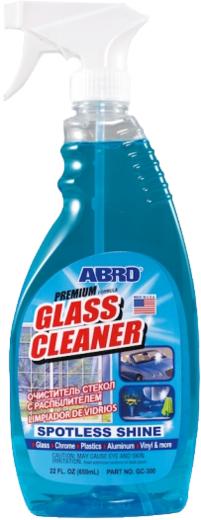 Abro Glass Cleaner очиститель стекол с распылителем (425 г)