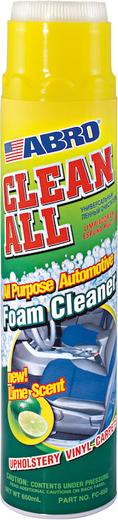 Abro Masters Clean All универсальный пенный очиститель с ароматом лайма