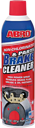 Abro Non-Chlorinated Parts & Brake Cleaner очиститель тормозов