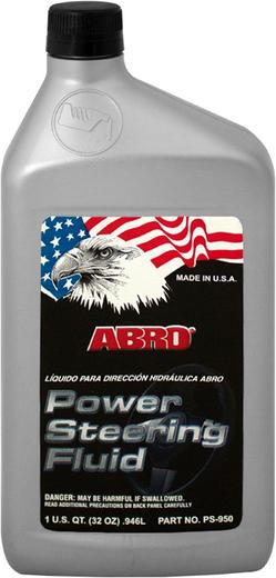 Abro Power Steering Fluid жидкость для гидроусилителя руля (946 мл)