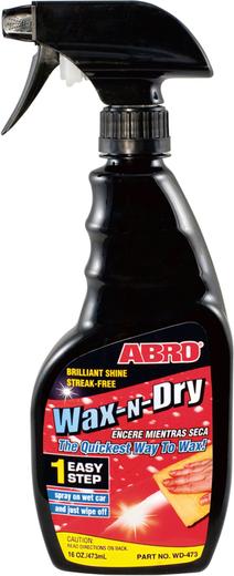 Abro Wax-N-Dry автовоск-осушитель
