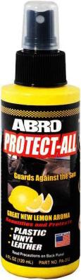 Abro Protect-All полироль панели защитная с запахом лимона
