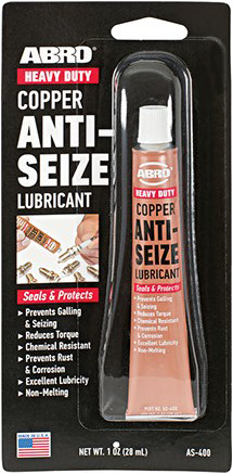 Abro Copper Anti-Seize Lubricant противозадирная смазка медная (28 мл)