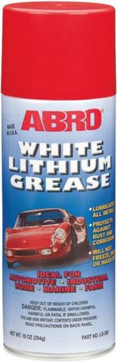 Abro Multi-Purpose White Lithium Grease белая литевая смазка многоцелевая